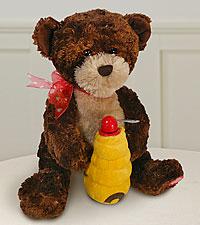 Hunny Musical Plush Bear