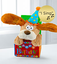 Flappy Birthday Musical Dancing Plush Dog
