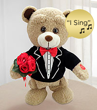 Sweet Serenade Singing Plush Bear