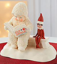 Snowbabies Guest Elf on the Shelf