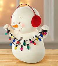 Snowbabies Snowman Figurine