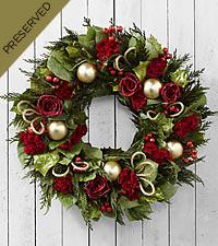 Deck the Halls Everlasting Holiday Wreath