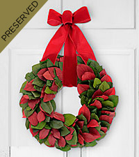 Joy to the World Everlasting Holiday Wreath