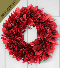 Red Riches Everlasting Holiday Wreath