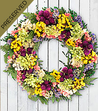 Signs of Spring Everlasting Wreath