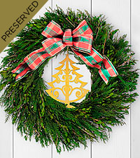 Ring in the Season Everlasting Holiday Wreath
