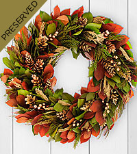 Winter Warmth Everlasting Holiday Wreath