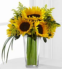 The FTD® Sunshine Daydream™ Bouquet - VASE INCLUDED