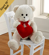 All My Love Valentine's Day Plush Bear