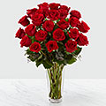 The Long Stem Red Rose Bouquet by FTD®