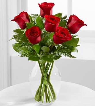 The Simply Enchanting™ Rose Bouquet by FTD® - VASE INCLUDED