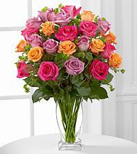 Le bouquet de roses Pure Enchantment<sup>&trade;</sup> de FTD® - VASE INCLUS