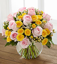 The Soft Serenade™ Rose Bouquet by FTD® - VASE INCLUDED