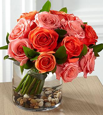 Le bouquet de roses Blazing Beauty™ de FTD®