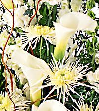 Le chevalet de condoléances créé par un fleuriste FTD<sup>®</sup>