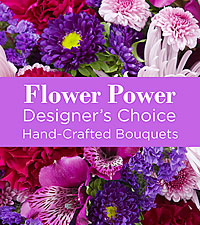 Purple Colored Florist Designed Bouquet by FTD®