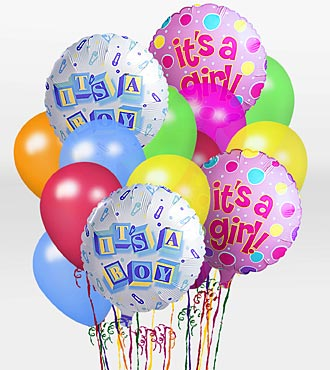 """It's A Boy!"" Balloon Bunch"