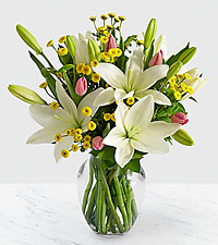 Easter Morning Lily Bouquet