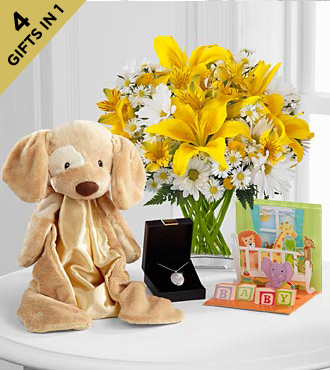 Baby Bliss Ultimate Gift - VASE INCLUDED