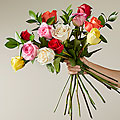 Mixed Roses  - VASE INCLUDED