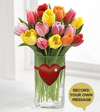 The FTD® Mixed Tulip 'Say It Your Way'™ Bouquet