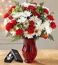 The FTD® Christmas Miracle Bouquet - ANGEL BOOKMARK INCLUDED
