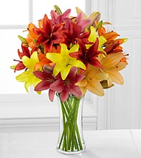 Sunsplash Sweetness Asiatic Lily Bouquet