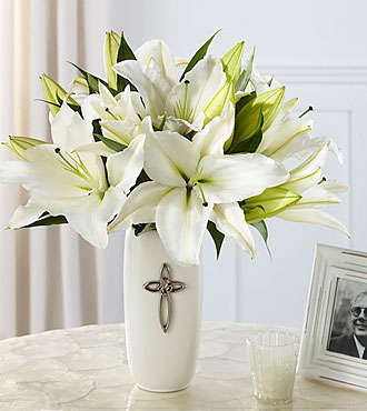 Le bouquet Faithful Blessings™ - VASE INCLUS