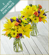 Brightest Days Petite Bouquets - JARS INCLUDED