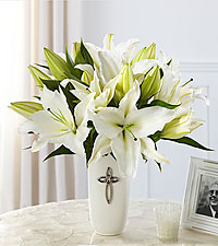 The FTD® Faithful Blessings™ Bouquet - VASE INCLUDED