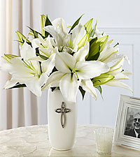 Le bouquet Faithful Blessings™ de FTD® - VASE INCLUS