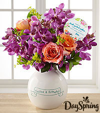 DaySpring® Blessed & Grateful Bouquet  - VASE INCLUDED