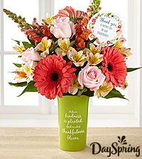 DaySpring® Gratitude & Grace Thank You Bouquet