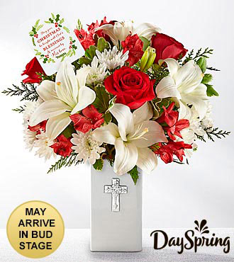 DaySpring® Be Bright Christmas Bouquet