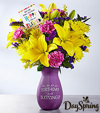 DaySpring® Happy Heart Bouquet  - VASE INCLUDED