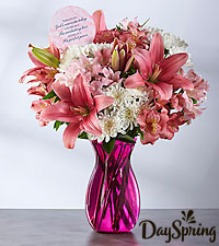 DaySpring® Near to God Bouquet  - VASE INCLUDED