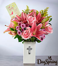 DaySpring® With Sympathy Bouquet  - VASE INCLUDED