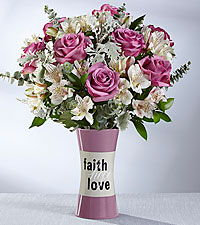 The FTD® Faith, Hope, Love Bouquet