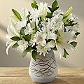 With Peace & Gratitude Bouquet - White