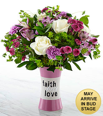 Have a Little Faith Bouquet - VASE INCLUDED