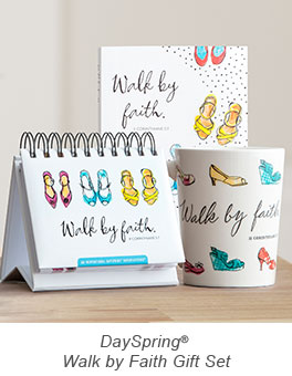 DaySpring Walk By Faith Gift Set