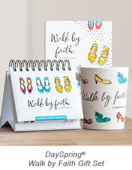 DaySpring Walk By Faith Gift Set
