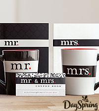DaySpring® Mr. & Mrs. Gift Set