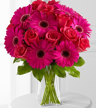 Adrenaline Blush Bouquet - 22 Stems - VASE INCLUDED