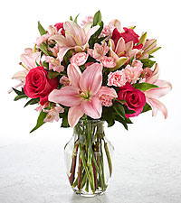 You Had Me at Pink Bouquet
