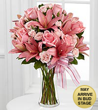 Perfect Poetry Bouquet - 14 Stems - VASE INCLUDED
