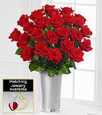 Floral Jewels™ January Garnet Birthstone Bouquet