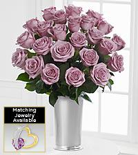 Floral Jewels™ February Amethyst Birthstone Bouquet