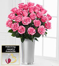 Floral Jewels™ June Rhodolite Birthstone Bouquet