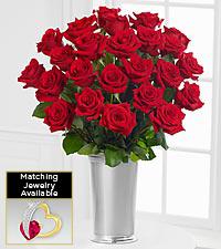 Floral Jewels™ July Ruby Birthstone Bouquet